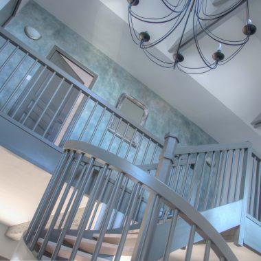 Peinture d'un escalier